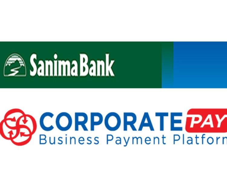सानिमा बैंकले शुरू गर्यो 'कर्पोरेट पे' प्रणाली_img