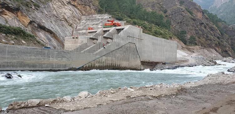 १११ मेगावाटको रसुवागढी जलविद्युतको काम ७८ प्रतिशत सम्पन्न