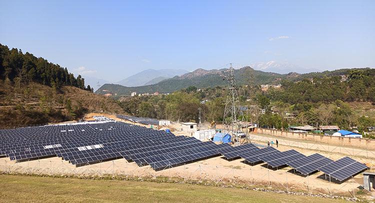 नेपालकै ठूलो सोलार आयोजनाबाट १.२५ मेगावाट बिजुली उत्पादन, डेढ महिनाभित्र १० मेगावाट जोडिने