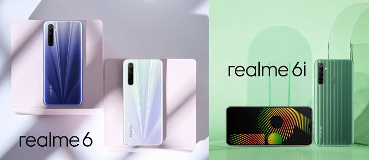 रियलीमी ६ र ६आई स्मार्टफोन नेपालमा सार्वजनिक, यस्तो छ मूल्य