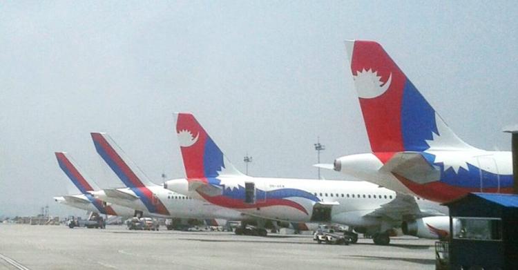निजी एयरलाइन्सलाई भ्याइनभ्याई, नेपाल एयरलाइन्स भने 'घाम ताप्दै'