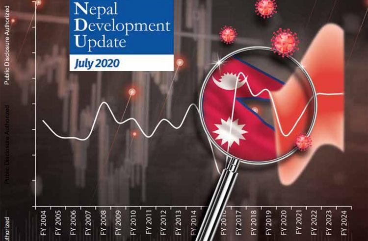 आर्थिक वृद्धिदर : सरकारको लक्ष्य ७ प्रतिशत, विश्व बैंकको प्रक्षेपण २.१ प्रतिशतमा सीमित हुने