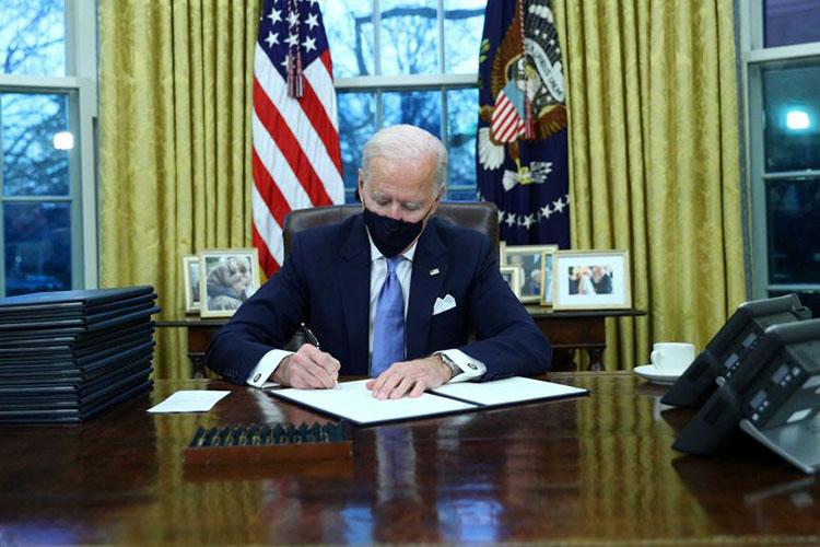 नयाँ अमेरिकी राष्ट्रपति बाइडनले पद सम्हाल्ने बित्तिकै उल्ट्याए ट्रम्पका यी नीति