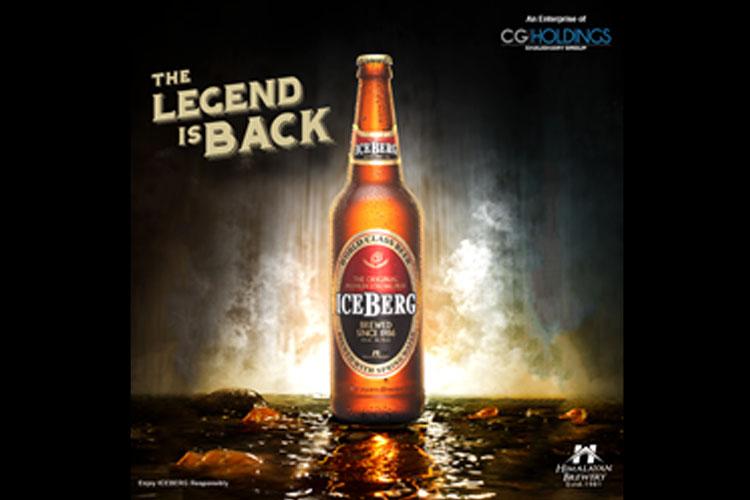 नयाँ स्वाद र लेबलमा आइसबर्ग बियर बजारमा